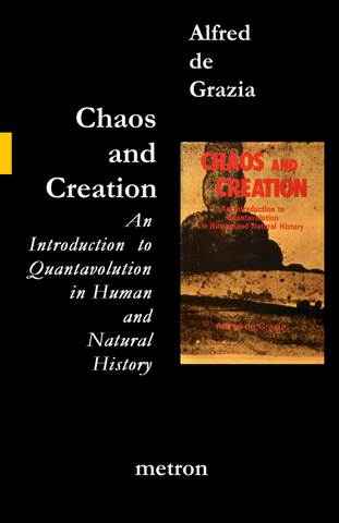 chaos and creation by alfred de grazia