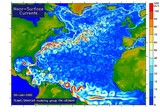 Currents of the Atlantic on near-surface