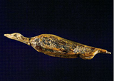 mammoth ivory ice age duck Hohle Fels Germany 30,000y ago